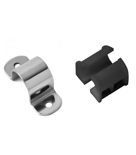 TUBE CLAMP WITH HALF NYLON BUSHES 35-27
