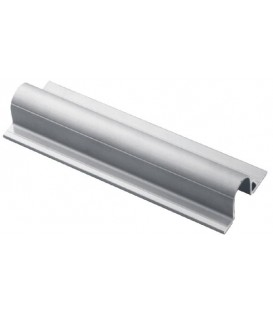 ALUMINIUM TUBE COVER PROFILE 25 (6M)