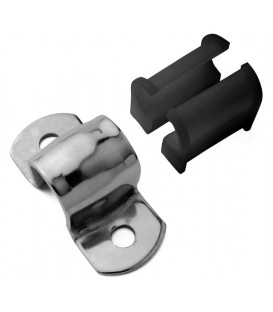 TUBE CLAMP WITH HALF NYLON BUSHES 30-16